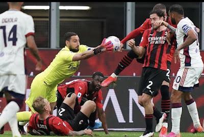 ملخص مباراة ميلان وكالياري (0-0) الدوري الإيطالي