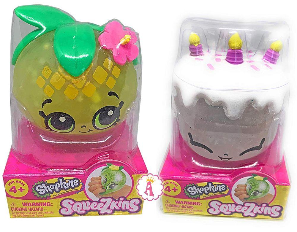 Squeezkins новые игрушки Шопкинс 2019