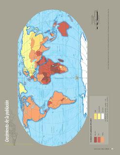 Apoyo Primaria Atlas de Geografía del Mundo 5to. Grado Capítulo 3 Lección 1 Crecimiento de la Población