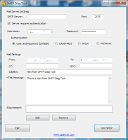 SMTP Test Tools