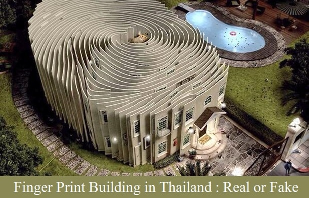 finger print building model in thailand