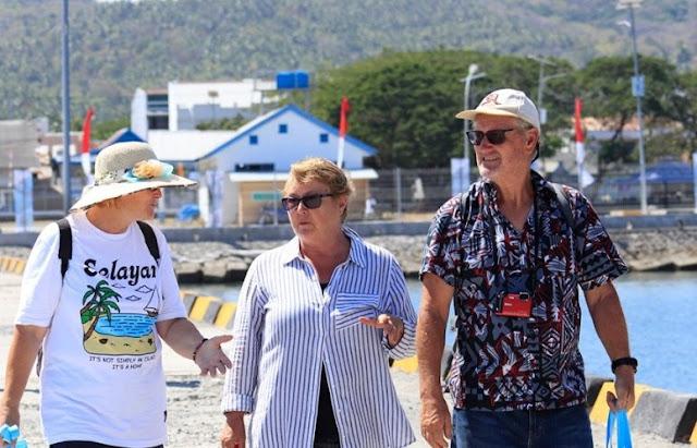 International Yacht Rally participants arrive on Selayar Island