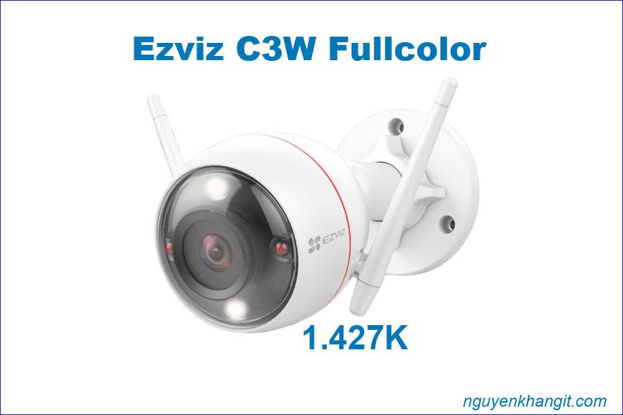 Camera wifi Ezviz C3W Fullcolor