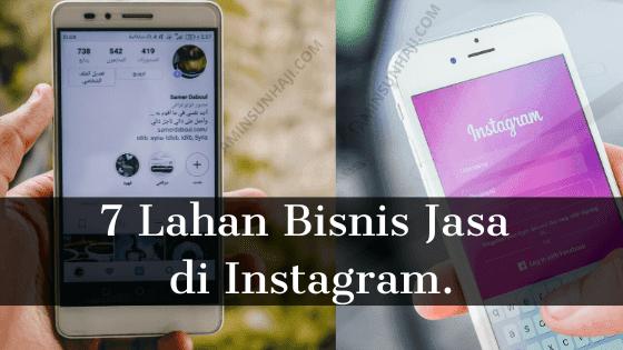 lahan bisnis di instagram