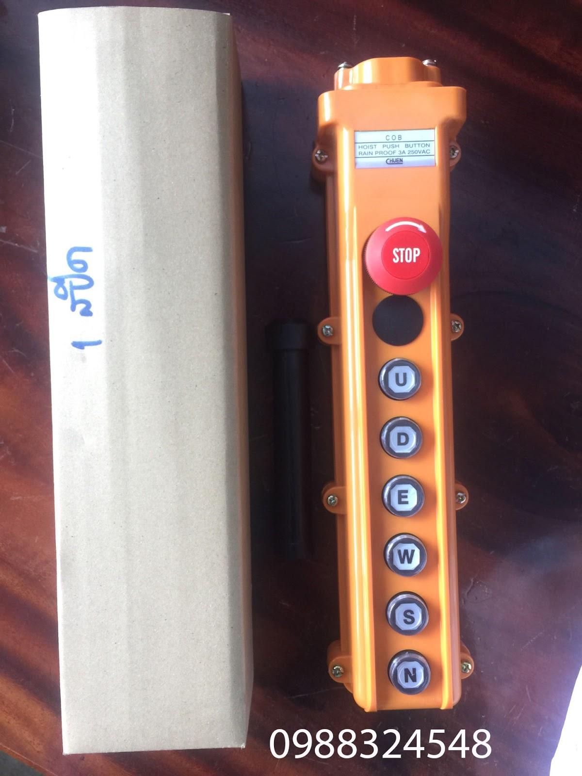 Tay điều khiển cầu trục ITS COB124-N