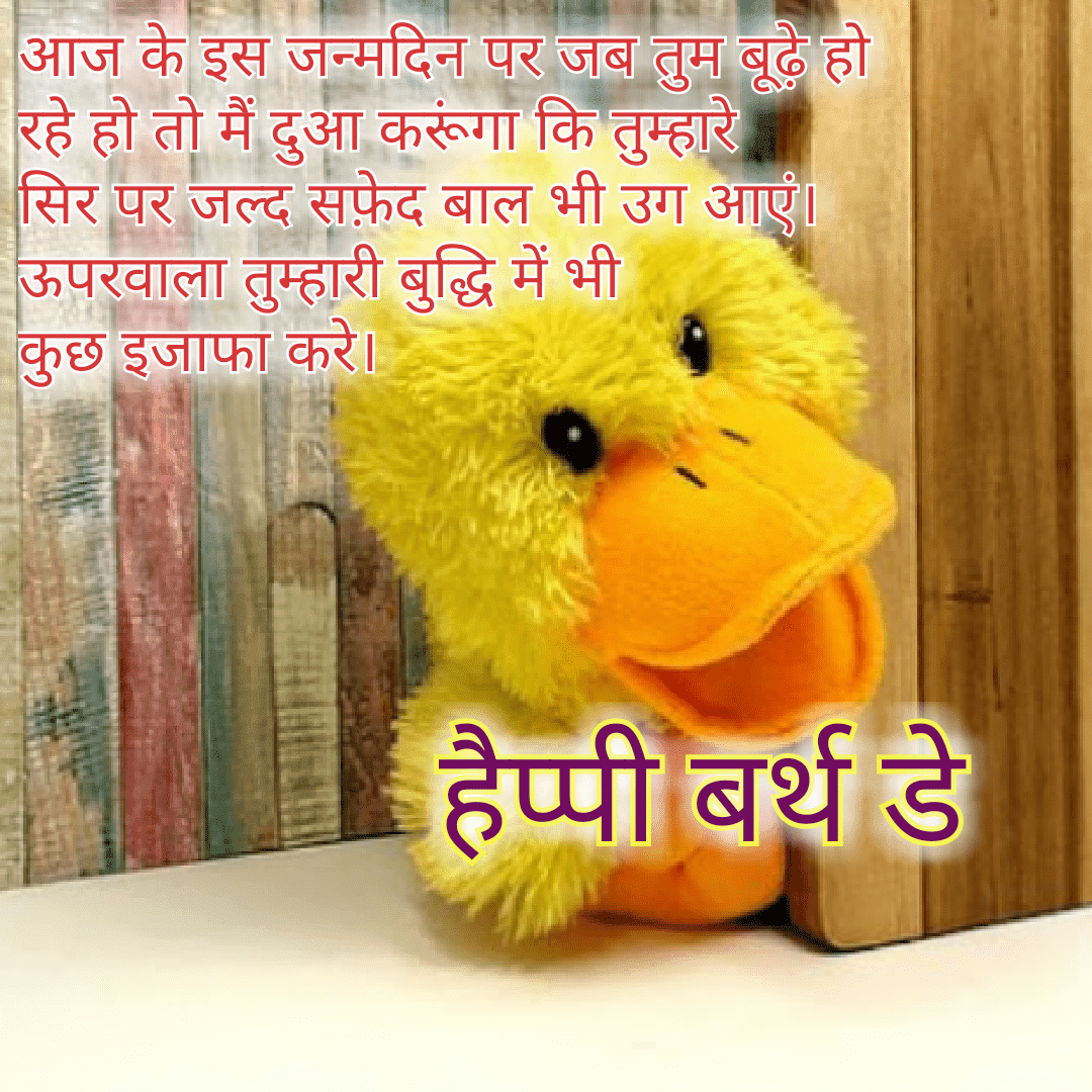 Top 15+ Funny Happy Birthday Wishes in Hindi | Love Shayari in Hindi