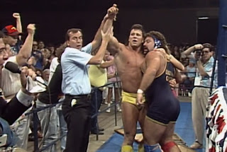WCW / NWA Great American Bash 1989 - The Steiner Brothers beat The Varsity Club