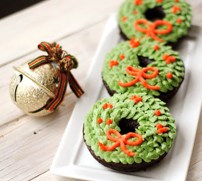 Wreath Donuts