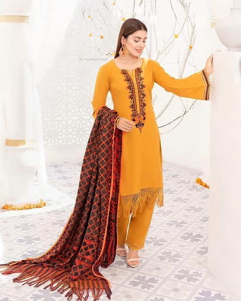 Ayeza Khan New One Photoshoot For Winter Collection 6