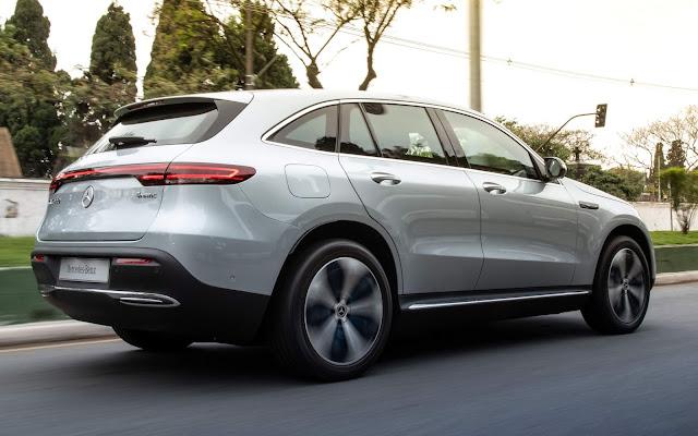 Mercedes EQC elétrico chega ao Brasil - preço R$ 575 mil