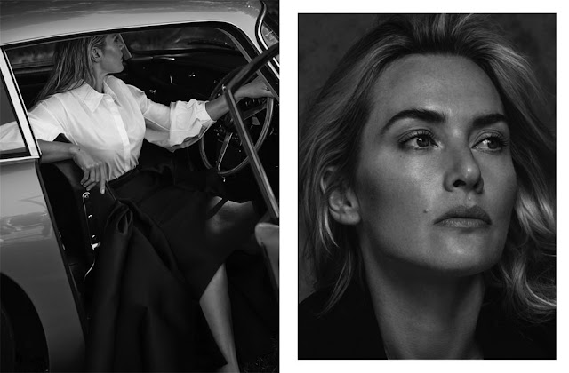 Kate Winslet in Net-A-Porter's The EDIT magazine - fashion editorials