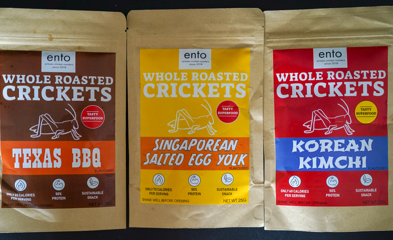 ento whole roasted crickets