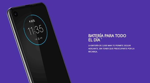 Motorola One Action batería para todo el día