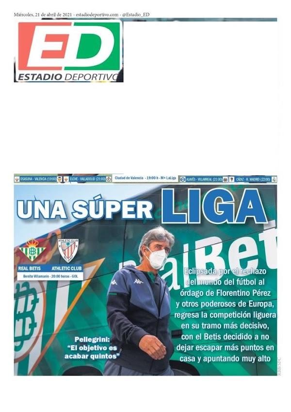 "Betis, Estadio Deportivo: ""Una Super LIGA"""