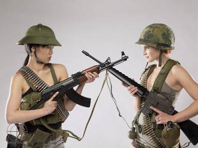 As mulheres militares
