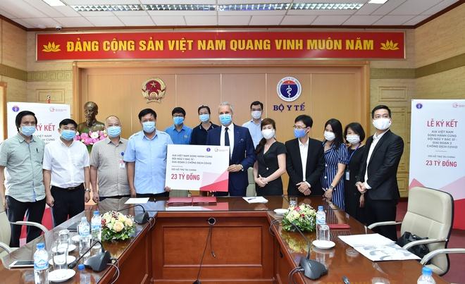 Bác sĩ, nhân viên y tế mắc Covid-19 được hỗ trợ 10 triệu/người