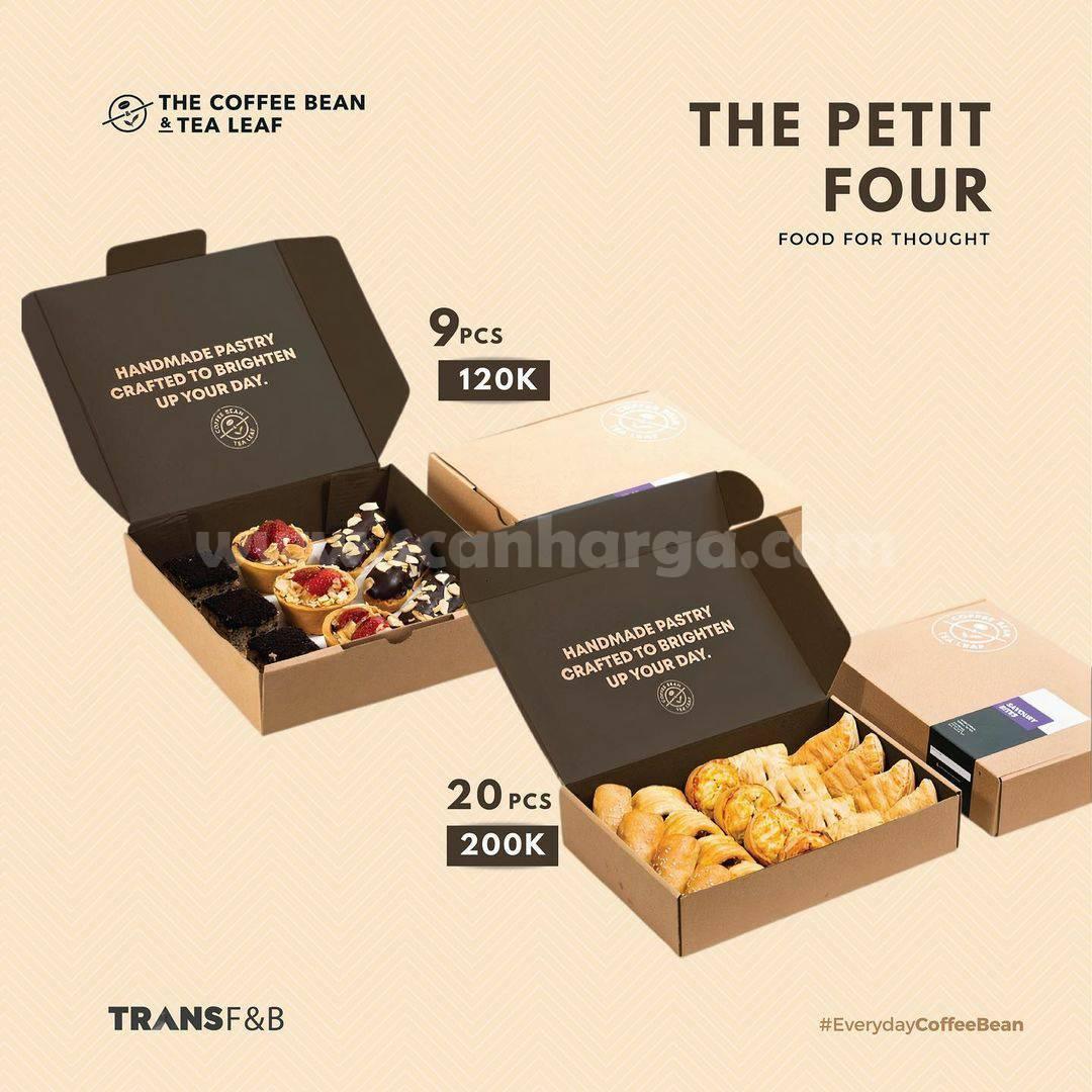 Coffee Bean Promo The Petit Four harga muai 120K untuk 9 Pcs Snack