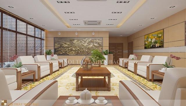 Thiết kế nội thất phòng khánh tiết cho các cơ quan ngoại giao - H2