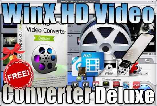 تحميل برنامج WinX HD Video Converter Deluxe Portable نسحة محمولة مفعلة اخر اصدار