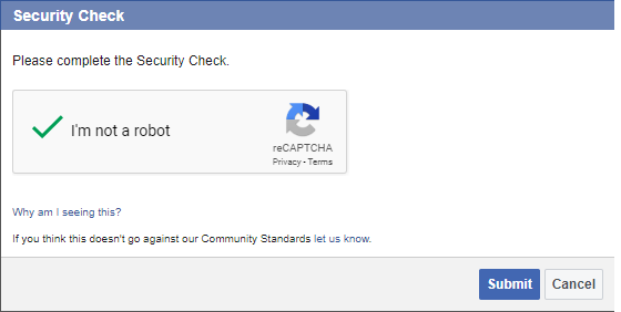 OAuth2 Facebook Security Check
