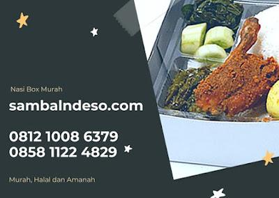 harga Nasi Box Ayam Rica-Rica di Bintaro