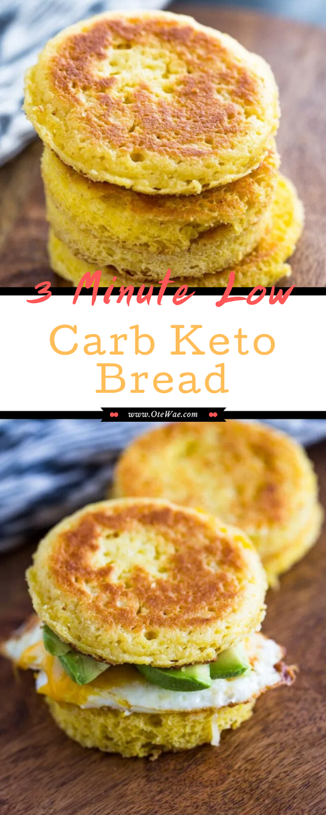 3 Minute Low Carb Keto Bread