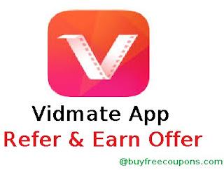 Vidmate App Refer and Earn Offer 2017