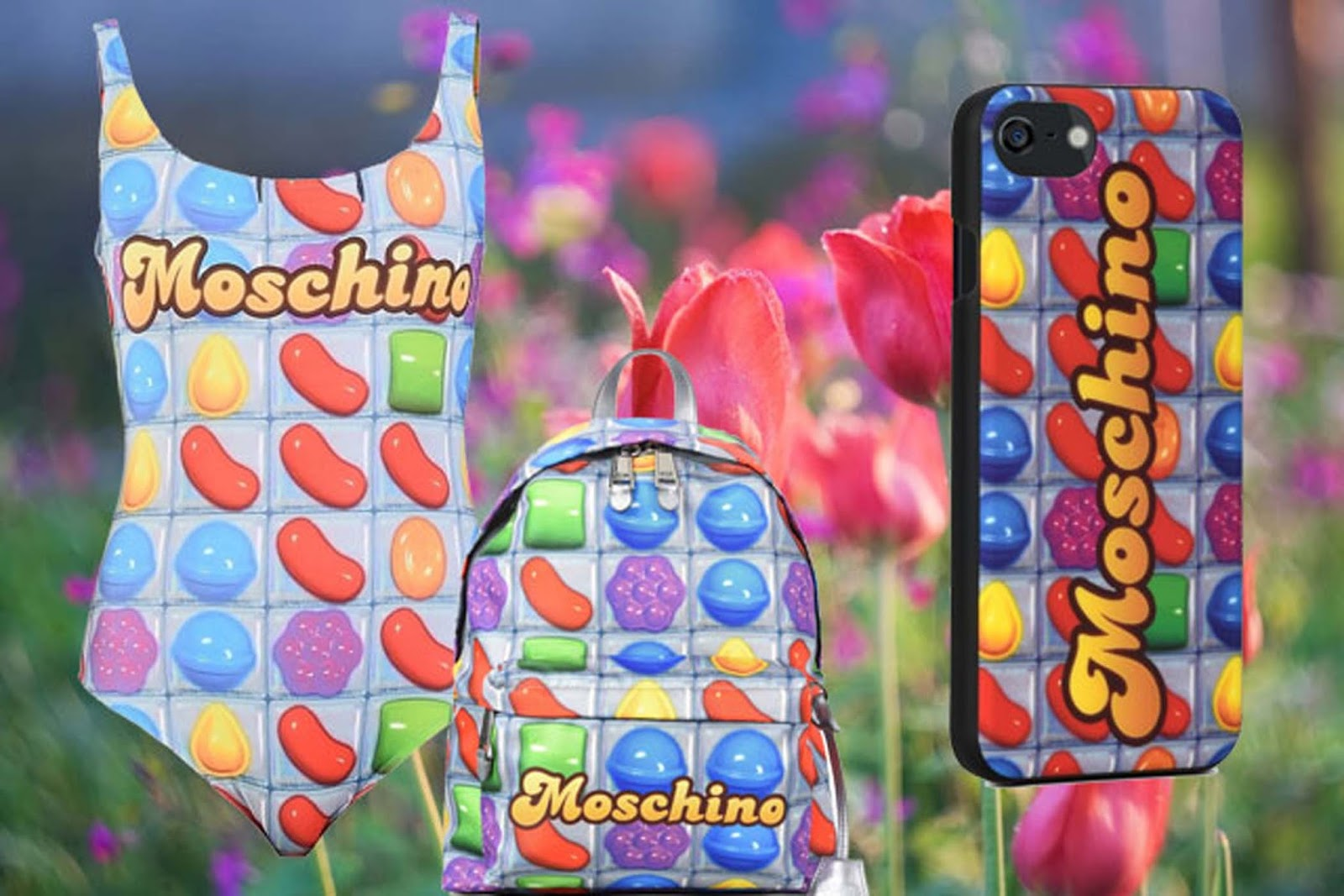 Novità moda aprile 2017 - Moschino & Candy Crush - Eniwhere Fashion