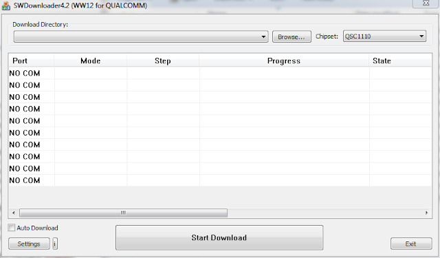 Qualcomm SW Downloader V4.2 Latest version download free