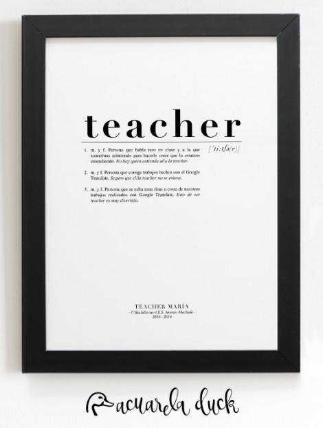láminas para profesores
