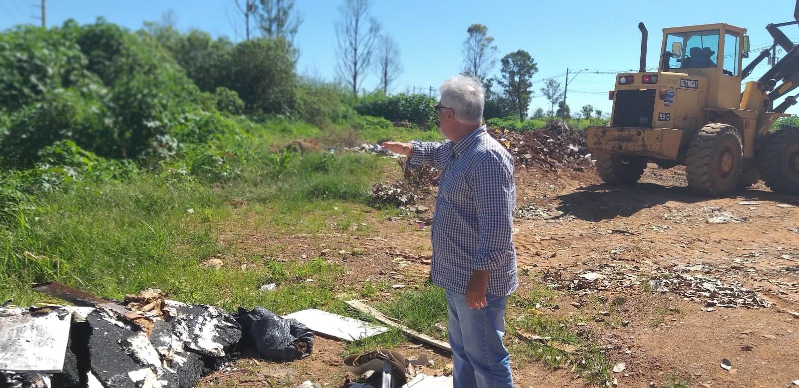 20190114 103703 - O administrador regional do Jardim Botânico, João Carlos Lóssio lançou, nesta segunda feira, ações de limpeza nas ruas que acontecerão de 14 a 16 de janeiro de 2019. SOS DF