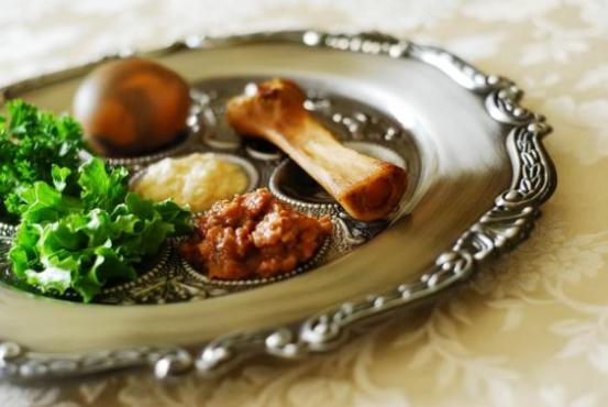 Every piece of food on the Seder plate is symbolic