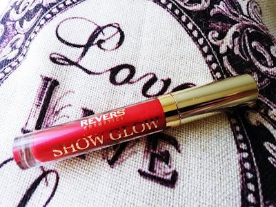 Recenzja: Lakier do ust SHOW GLOW- Revers Cosmetics