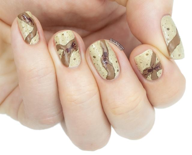 ant nail art