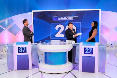 Marcos, Silvio e Monique (Crédito: Lourival Ribeiro/SBT)