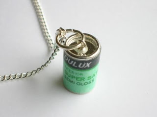 Paint can necklace