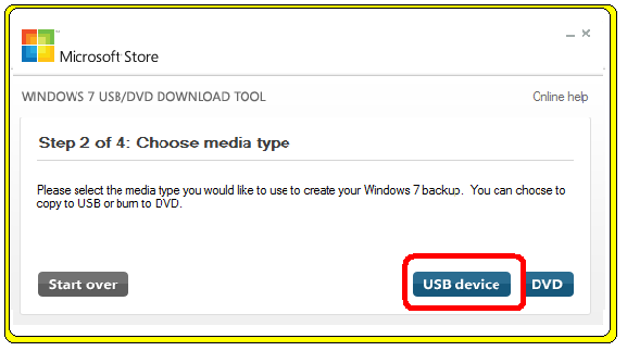 windows 8 usb