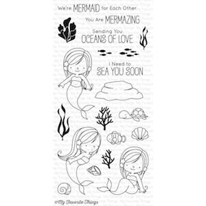 My Favorite Things Clear Stamps, Mermazing By Birdie Brown
