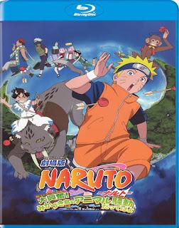 Naruto 3: Guardianes del Reino de la Luna [BD25] *Subtitulada