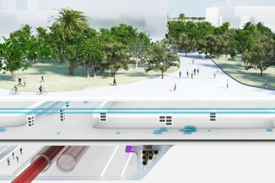 Neom City Transit System