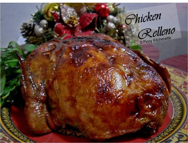 Pinoy Kitchenette Chicken Relleno Stuffed Deboned Chicken
