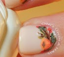 http://onceuponnails.blogspot.com/2014/10/orange-flowers.html