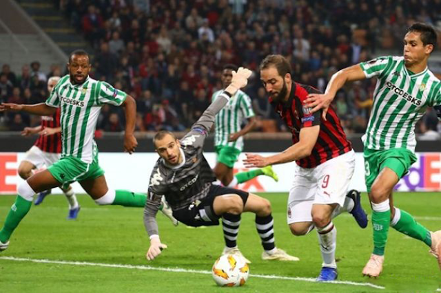 Prediksi Bola Real Betis vs AC Milan Europa League
