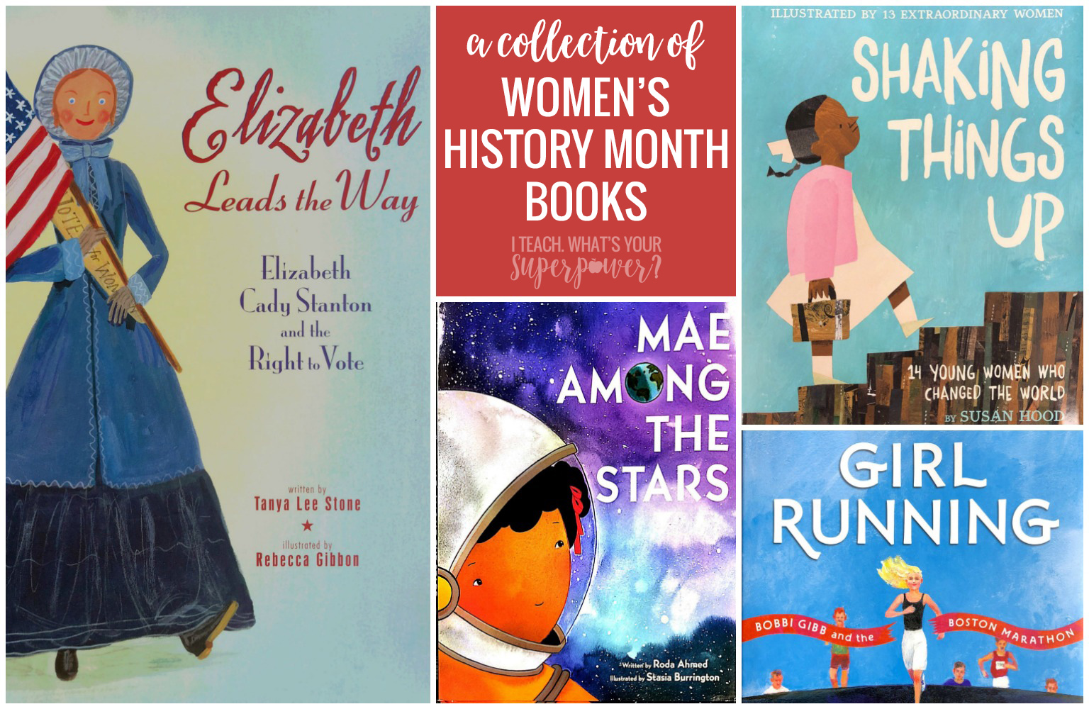 Women's History Month books to inspire your readers in March and every month!
