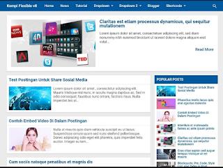 Download template blogger terbaik