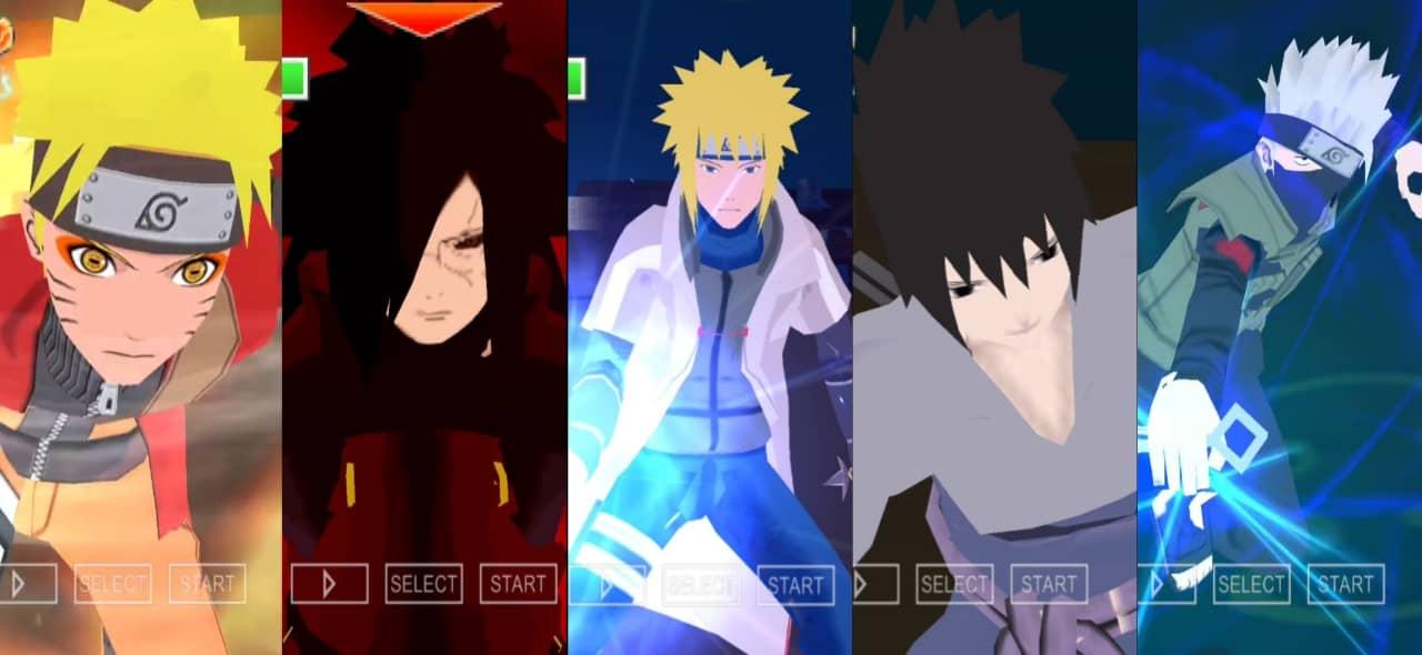 Naruto PSP Game Download
