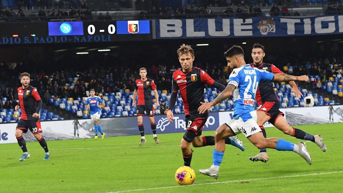 نابولي يواصل نزيف النقاط في الدوري الإيطالي