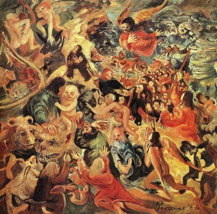La traversée de la mer rouge (John Perceval)