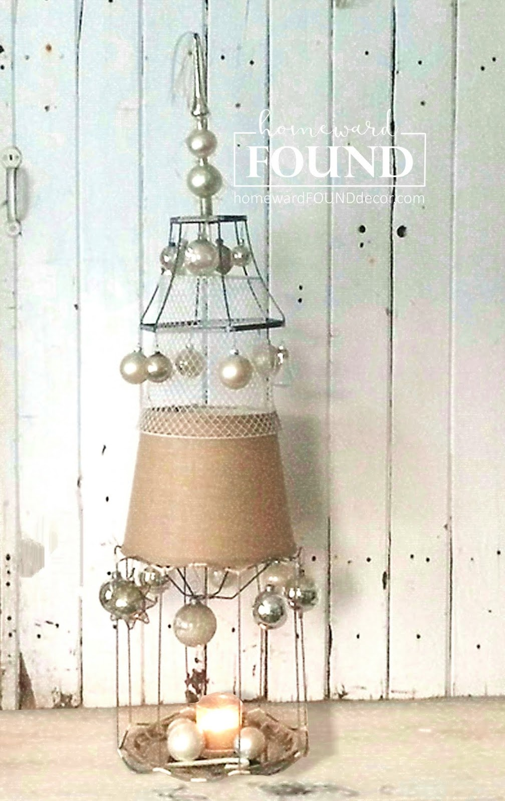 thrifty weekend makeover part i homewardfound decor.htm diy wire lampshade frame christmas tree homewardfound decor  diy wire lampshade frame christmas tree