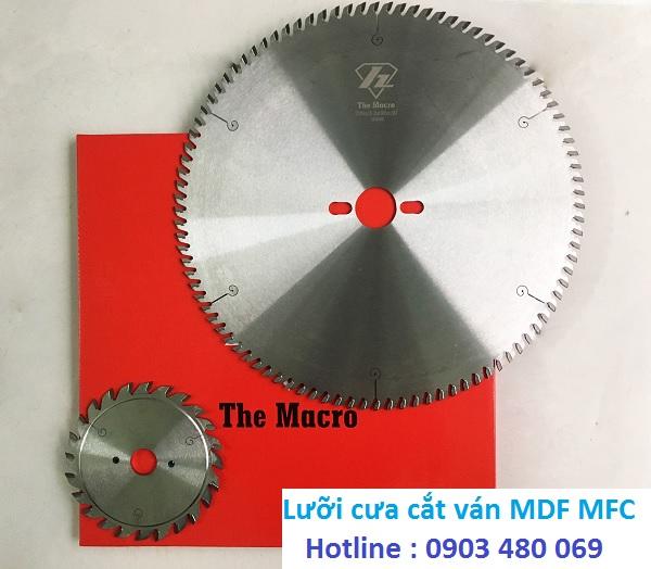 Bộ lưỡi cắt ván công nghiệp The macro 300x96T